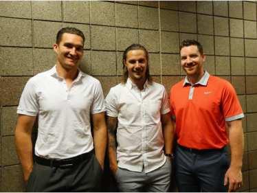Mark Stone, Erik Karlsson, Andrew Hammond